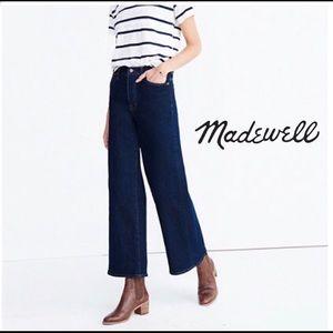 Madewell Wide Leg Crop Jean